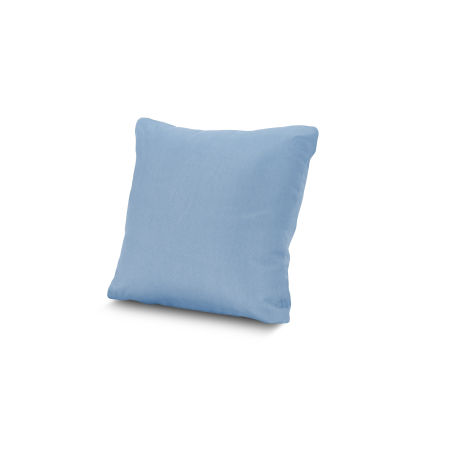 "16"" Outdoor Throw Pillow by POLYWOOD® in Air Blue"