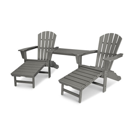 Palm Coast Ultimate Adirondack Tête-à-Tête Set