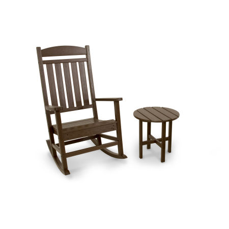 Classics 2-Piece Rocker Set in Mahogany
