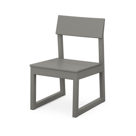 EDGE Dining Side Chair in Slate Grey