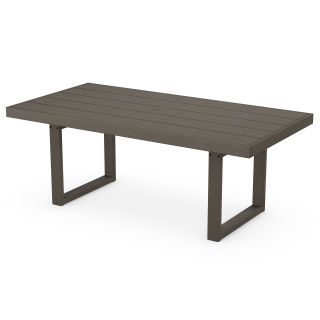 """EDGE 39"""" x 78"""" Dining Table in Vintage Finish"""