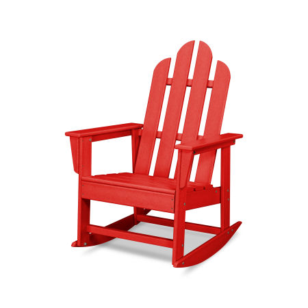 Long Island Rocking Chair in Sunset Red