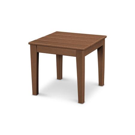 """Newport 18"""" End Table in Teak"""