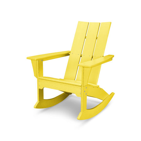 Modern Adirondack Rocker in Lemon