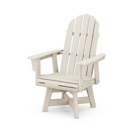 Vineyard Adirondack Swivel Dining Chair in Sand