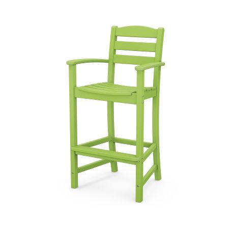 La Casa Café Bar Arm Chair in Lime