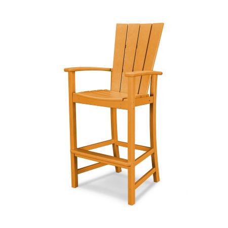 Quattro Adirondack Bar Chair in Tangerine