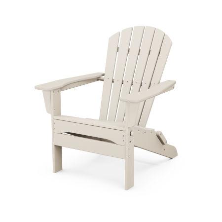 South Beach Folding Adirondack Chair in Sand