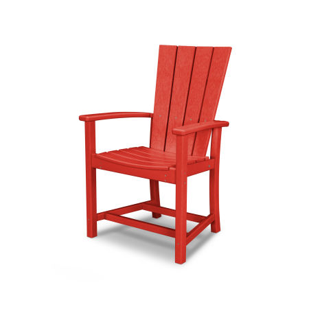 Quattro Adirondack Dining Chair in Sunset Red