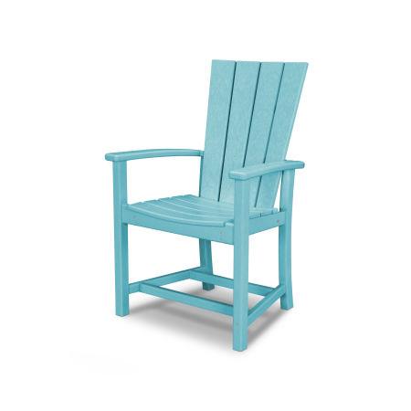 Quattro Adirondack Dining Chair in Aruba