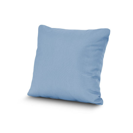 "20"" Outdoor Throw Pillow by POLYWOOD® in Air Blue"