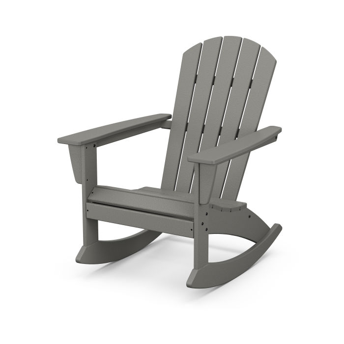 Nautical Adirondack Rocking Chair