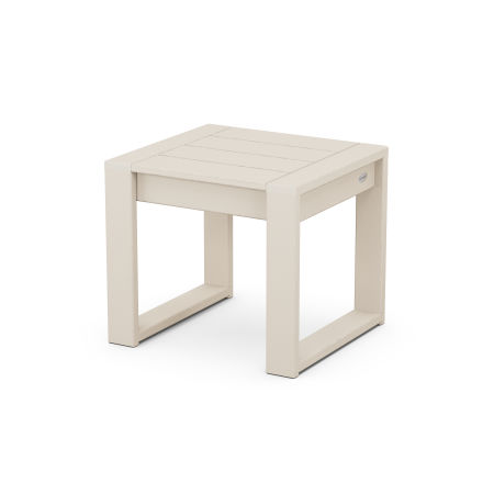 EDGE End Table in Sand
