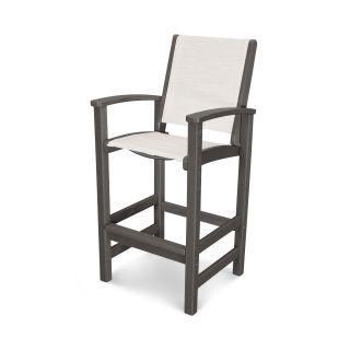 Coastal Bar Chair in Vintage Finish
