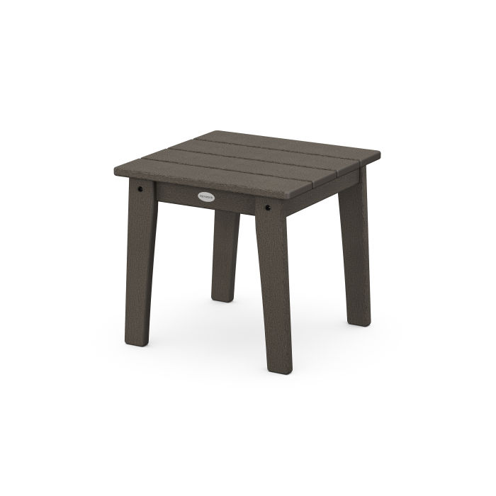 Lakeside End Table in Vintage Finish