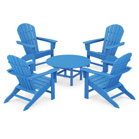 5-Piece Conversation Group in Pacific Blue