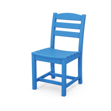 La Casa Café Dining Side Chair in Pacific Blue