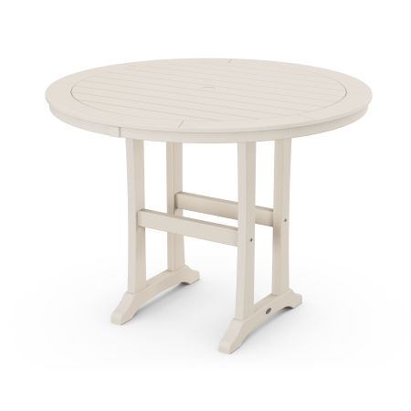"48"" Round Counter Table in Sand"