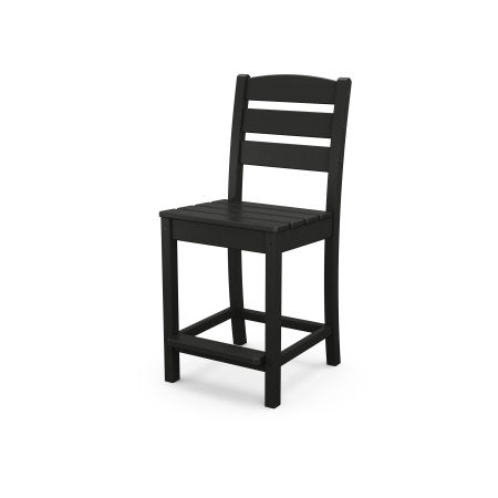 Lakeside Counter Side Chair in Black