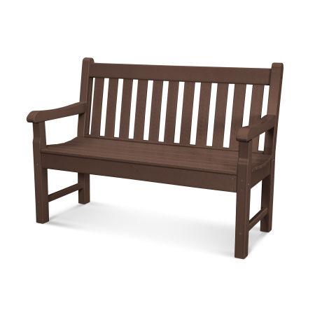 "Rockford 48"" Bench in Mahogany"