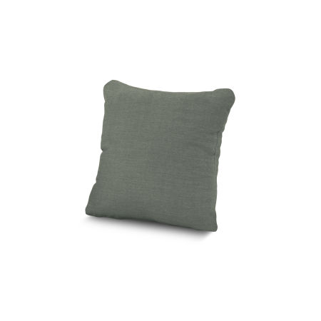 "16"" Outdoor Throw Pillow by POLYWOOD® in Cast Sage"