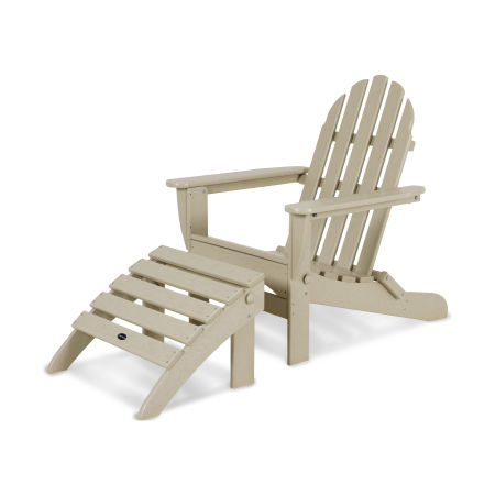 Classic Adirondack 2-Piece Set in Sand