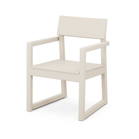 EDGE Dining Arm Chair in Sand
