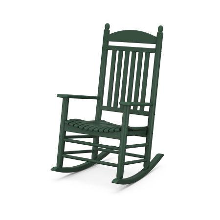Jefferson Rocking Chair in Green