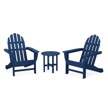 Classic Adirondack 3-Piece Set in Navy
