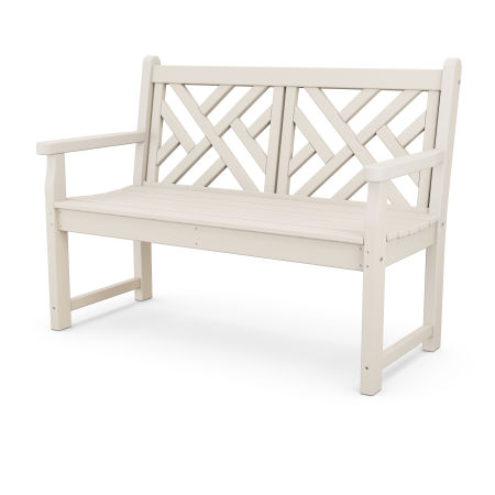 "Chippendale 48"" Bench in Sand"
