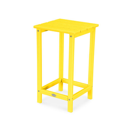 "Long Island 26"" Counter Side Table in Lemon"