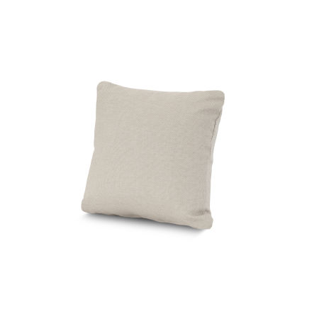 "16"" Outdoor Throw Pillow by POLYWOOD® in Essential Sand"