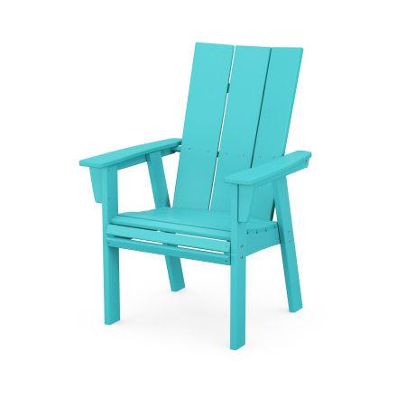 Modern Adirondack Dining Chair in Aruba