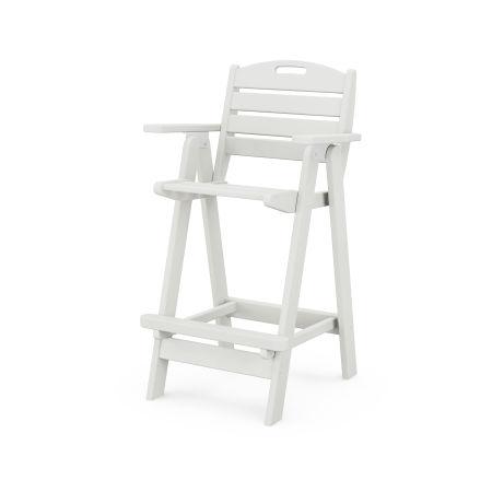 Nautical Bar Chair in Vintage White