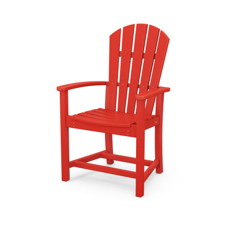 Palm Coast Dining Chair in Sunset Red