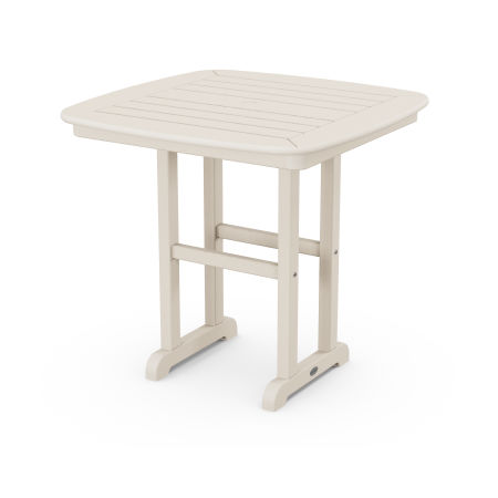 """Nautical 31"""" Dining Table in Sand"""