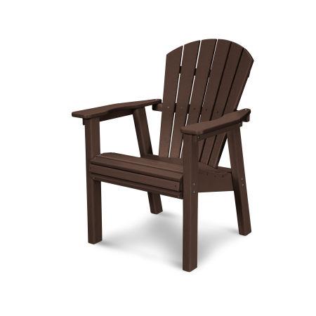 Seashell Casual Chair in Mahogany