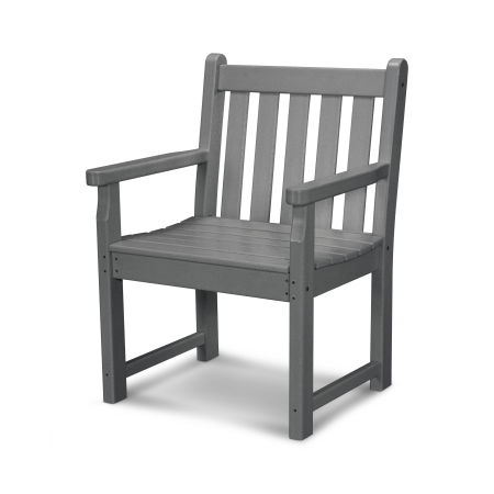 Traditional Garden Arm Chair in Slate Grey