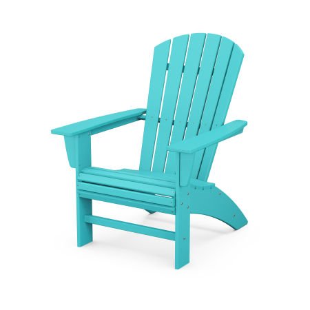 Nautical Curveback Adirondack Chair in Aruba