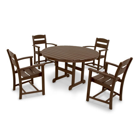 Classics 5-Piece Dining Set in Mahogany