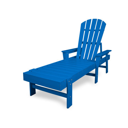 South Beach Chaise in Pacific Blue