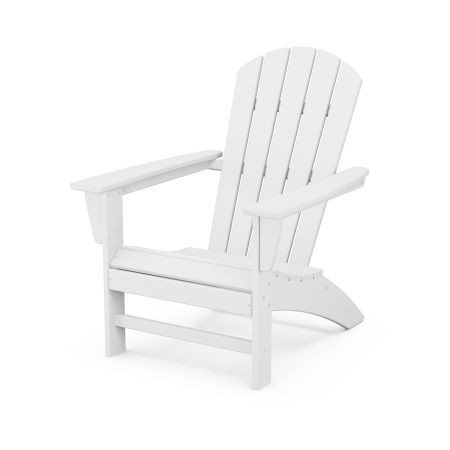 Nautical Adirondack Chair in White