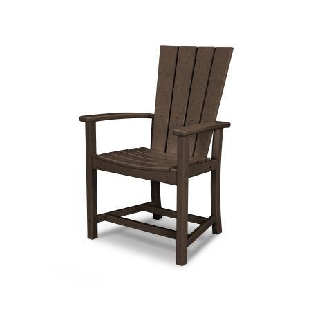 Quattro Adirondack Dining Chair in Mahogany