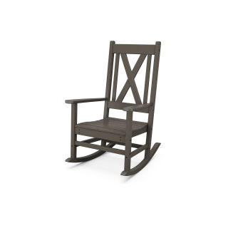Braxton Porch Rocking Chair in Vintage Finish