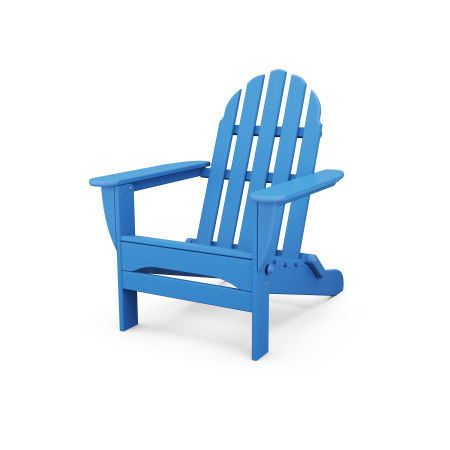 Classic Folding Adirondack in Pacific Blue