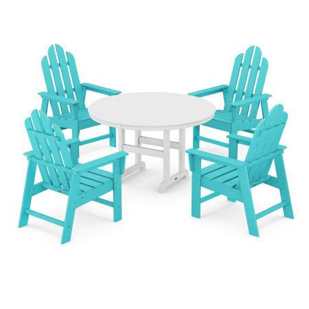 Long Island 5-Piece Dining Set in Aruba