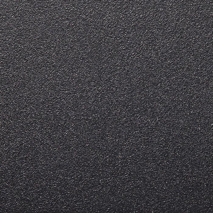 Textured Black Aluminum Frame Sample