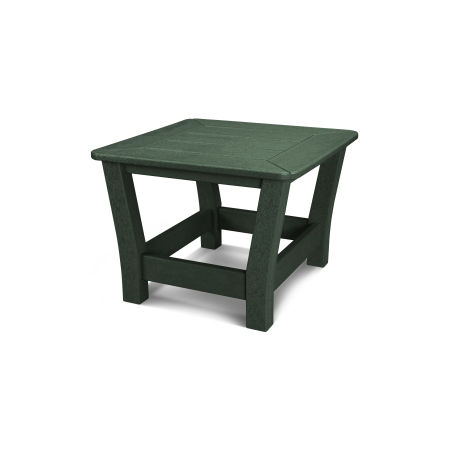 Harbour Slat End Table in Green