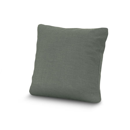 """20"""" Outdoor Throw Pillow by POLYWOOD® in Cast Sage"""