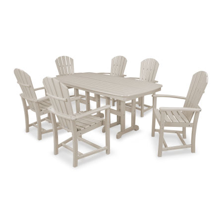 Palm Coast 7-Piece Dining Set in Sand